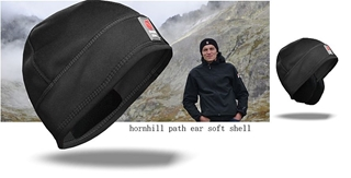 CZAPKA PATH SOFTSHELL + USZY